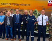 Le Forum des métiers en uniformes de Ham-sous-Varsberg intéresse les jeunes