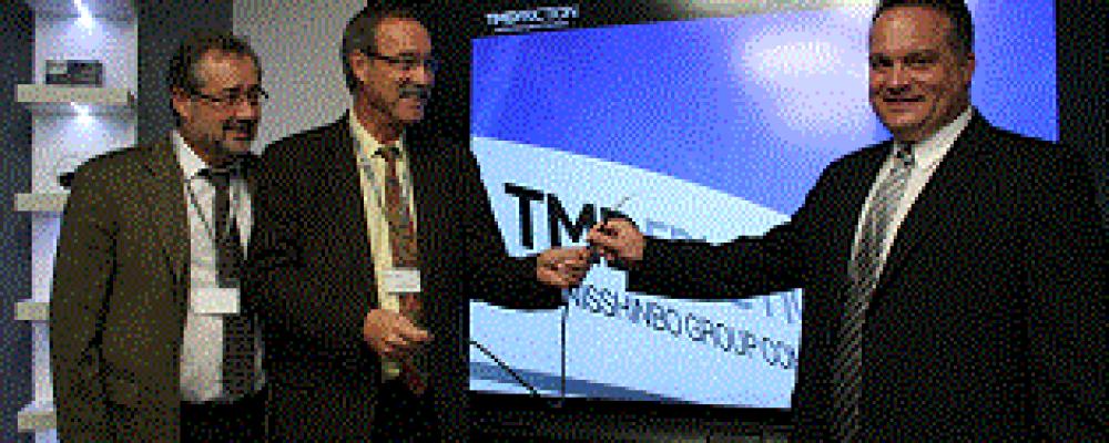 Première entreprise raccordée à la fibre optique