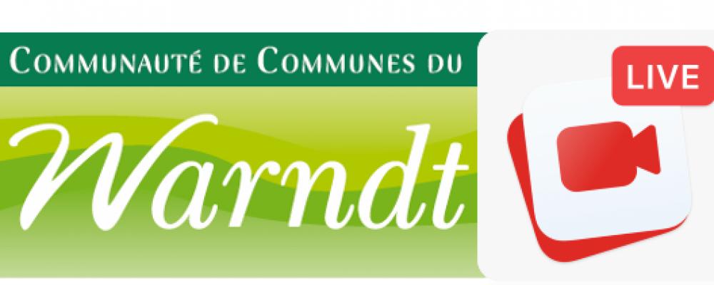 Installation du conseil communautaire de la CCW – live