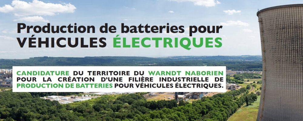 Développement économique : Soutenez votre territoire pour le projet «batteries 2030»