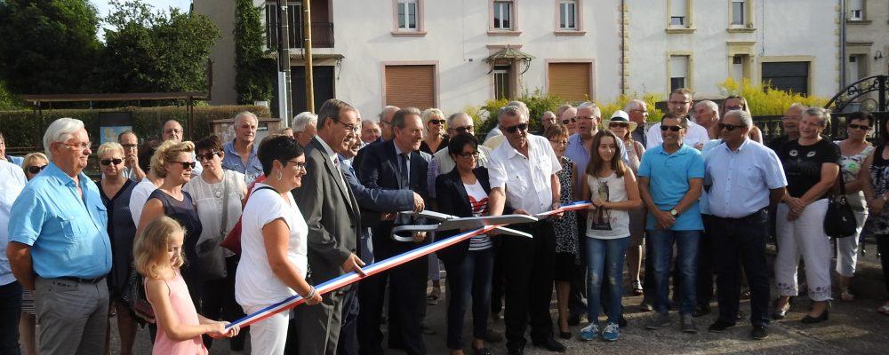 Inauguration à Ham-sous-Varsberg