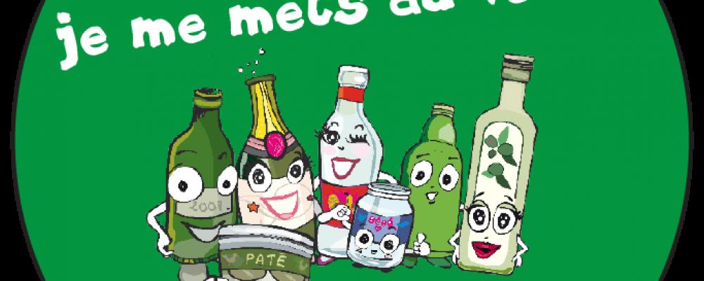 Environnement : Nettoyage des bornes à verres