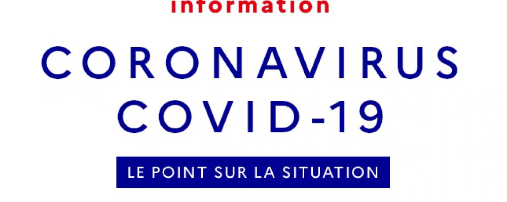 Covid-19 : Pour plus d'informations