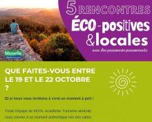 Rencontres Eco-positives et locales de MOSL Académie Tourisme