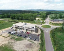 CCW : Inauguration de l'hôtel d'entreprises et communautaire du Warndt